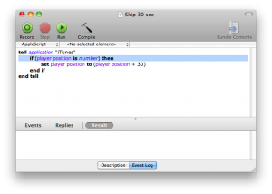 AppleScript Editor